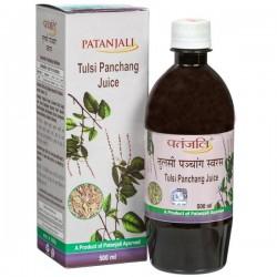 Patanjali Tulsi Panchang / Holi Basil Juice 1 Ltr