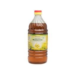 Patanjali Katchi Ghani Mustard Oil 1ltr
