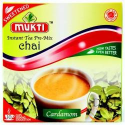Mukti Instant Tea Cardamon Sweetened 10 Sachet