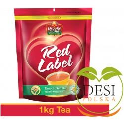 Herbata Czerwona etykietka Brooke Bond 1 Kg Pouch