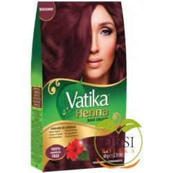 Vatika Henna Hair Colour Burgundy 60g