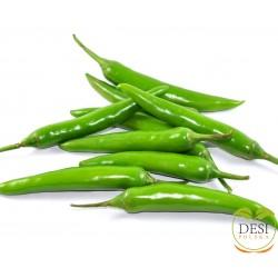 Zielone papryczki chili