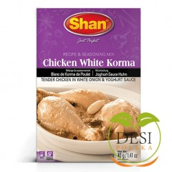 Shan Chicken White Korma Masala 40g