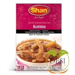 Mix przypraw Korma Shan 50g