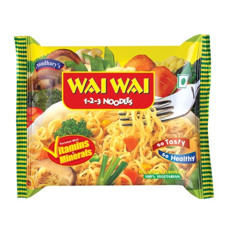 Wai Wai Vegetable Noodles 70g