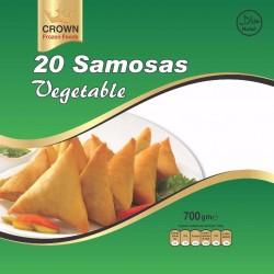 Crown Vegetable Samosa ( 20 Pcs ) 700g