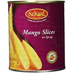 Mango Slices in Sugar Syrop
