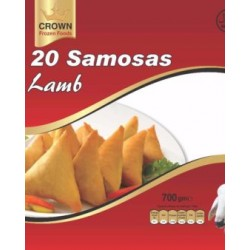 Crown Lamb Samosas (10 Pcs ) 750g