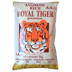 Jasmine rice ROYAL TIGER 5 kg