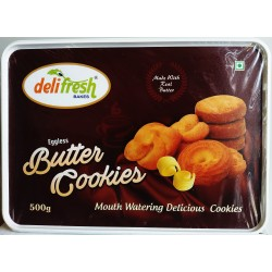 Delifresh Premium Eggless Butter Cookies 500g