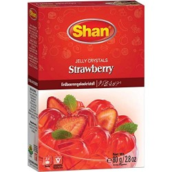 Shan Jelly Crystals Strawberry 80g
