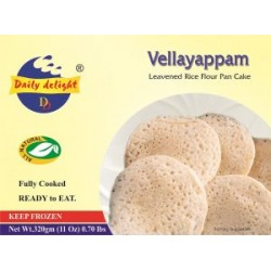 Daily Delight Vellayappam 320g (Ready to Eat)