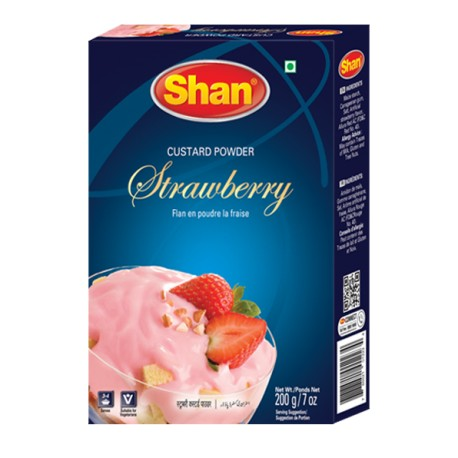 Shan Custard Powder Strawberry 200g