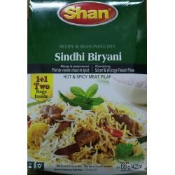Shan Sindhi Biryani 1+1 (Double Pack) 120g