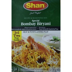 Shan Special Bombay Biryani 1+1 (Double Pack) 120g