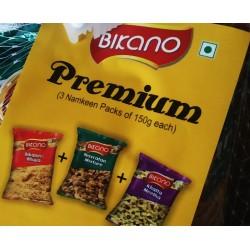 Bikano Premium Combo Pack 3x150g