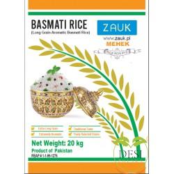 Zauk Basmati Rice Mehek 20Kg