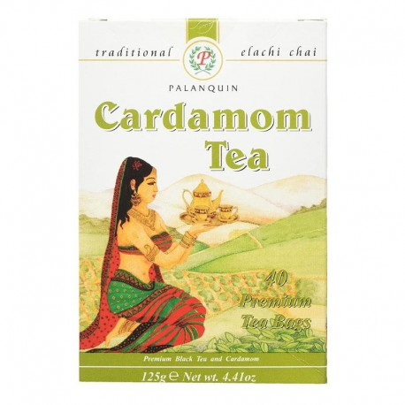 Planquin Cardamom Tea 40 Tea Bags 125g