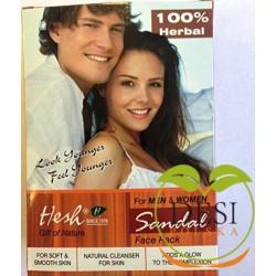 Hesh Sandal Facepack 100g