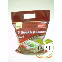 Crown Lamb Seekh Kebaba 15 Pcs