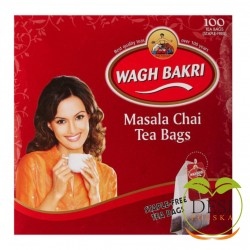 Wagh Bakri Masala Chai 100 Teabags