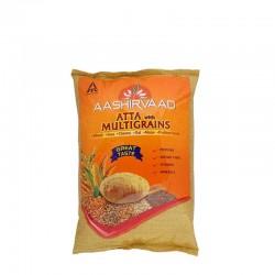 Aashirvaad Multi Grain Flour 2 Kg ( high fiber atta )